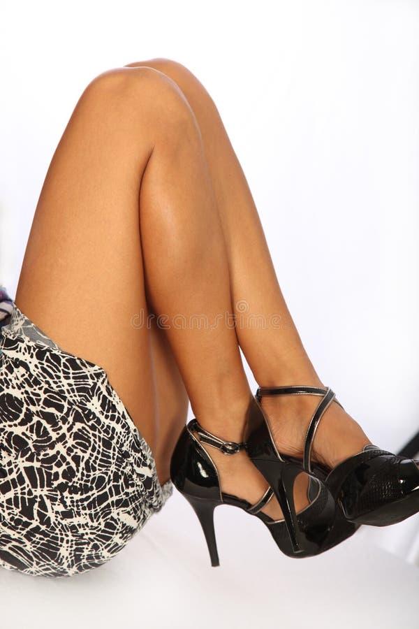 Legs And Stilettos Stock Photo Image Of Platform Elegant