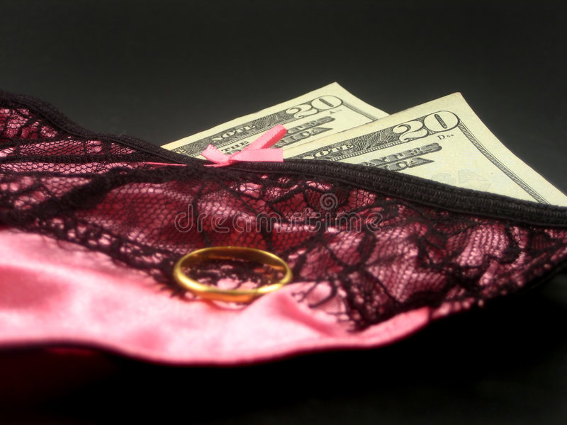 Download Lingerie and money stock photo. Image of curtain, gorgeous - 1716636
