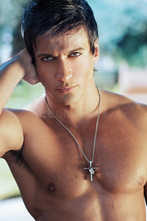 Download Male Model Face Stock Photo - Image: 28737350