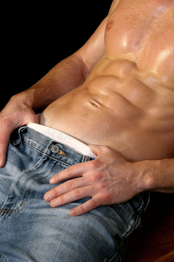 Download Male Stomach Royalty Free Stock Images - Image: 1703789
