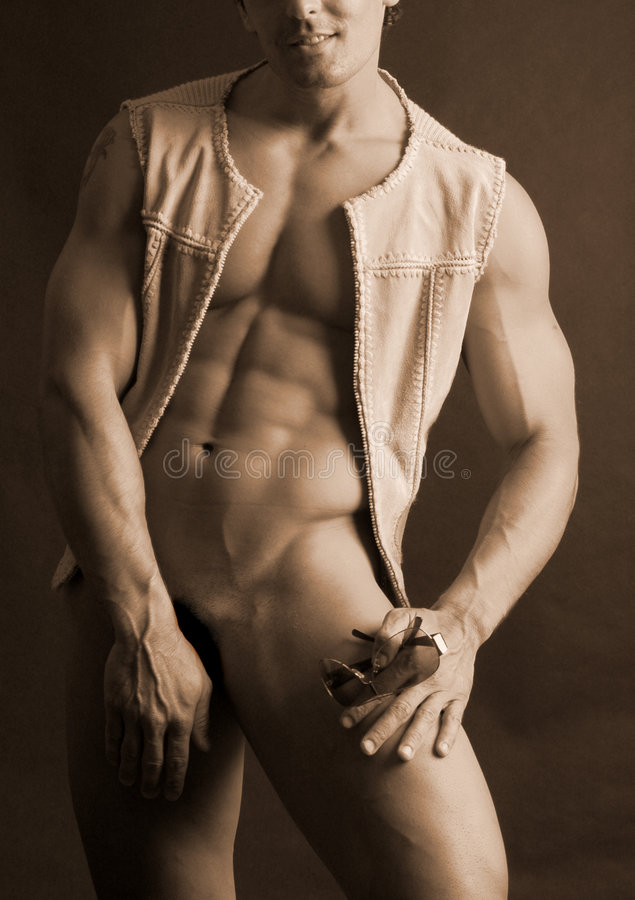 Download Male in vest stock image. Image of erotic, romance, fitness - 1152221