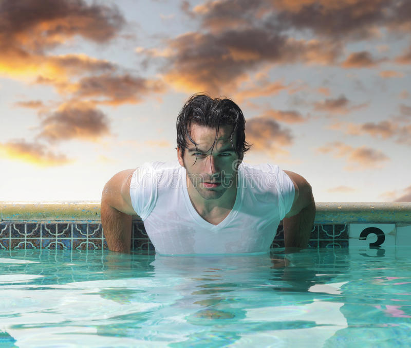 Download Man stock image. Image of handsome, dating, shirt, muscular - 25986409