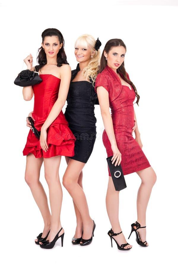 Sexy maniermeisjes royalty-vrije stock foto