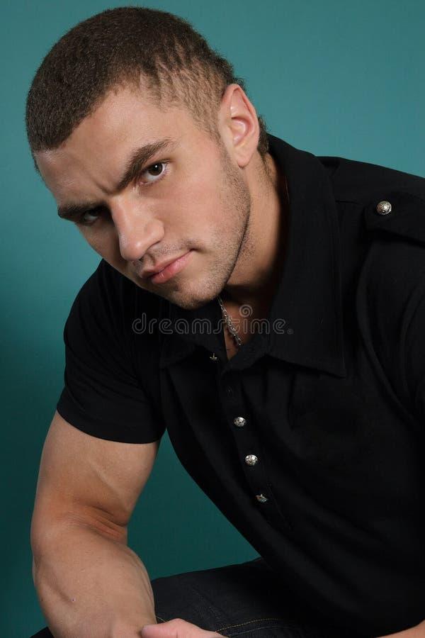 Sexy Mann stockbild