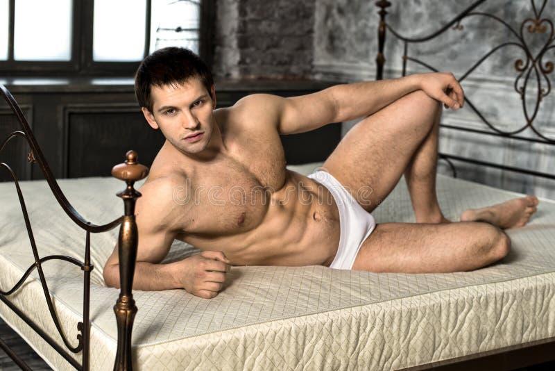 Sexy Mann stockbilder