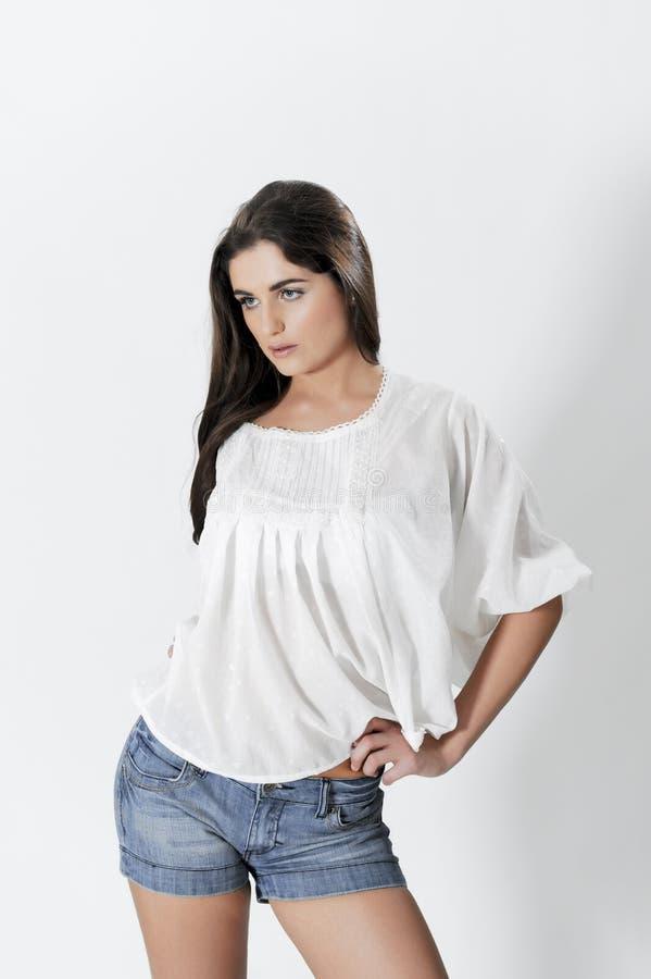 Sexy Meisje! stock foto