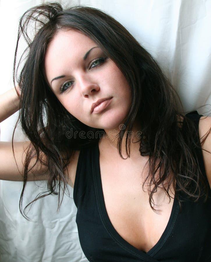 Sexy meisje royalty-vrije stock afbeeldingen