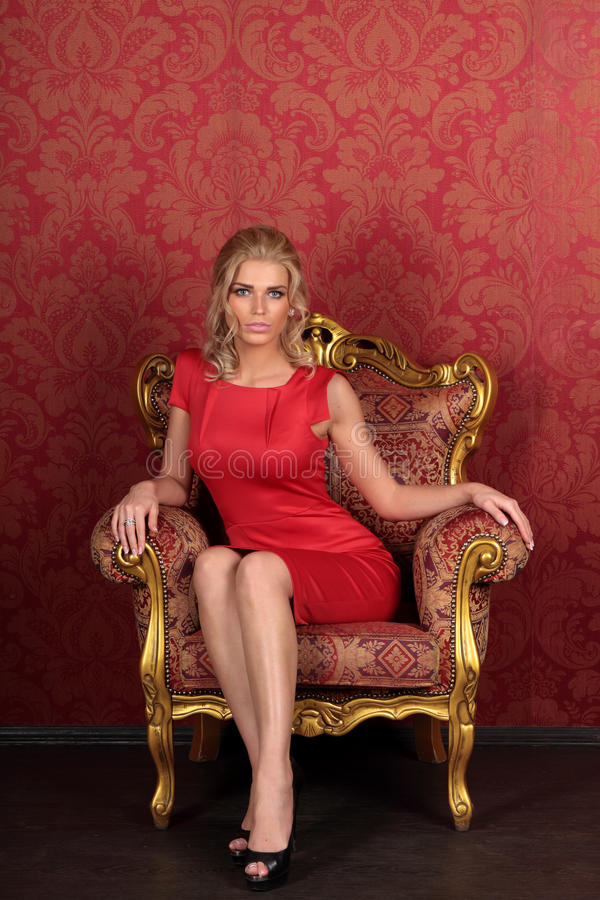 Sexy meisje royalty-vrije stock afbeelding