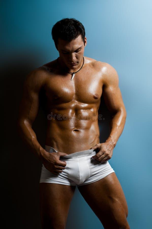 Sexy mens royalty-vrije stock afbeelding