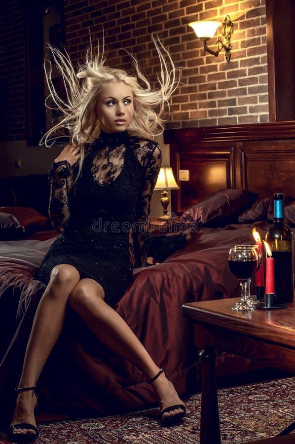 Sexy mooie vrouw stock foto