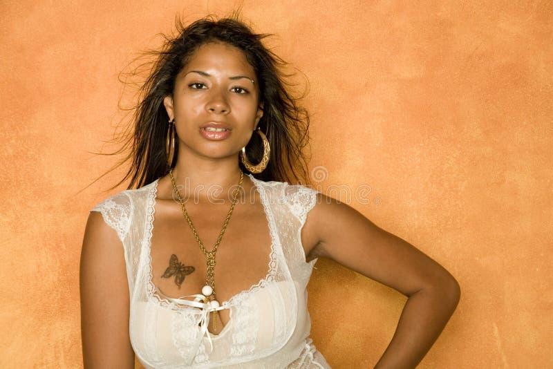 Sexy mooie vrouw royalty-vrije stock foto's