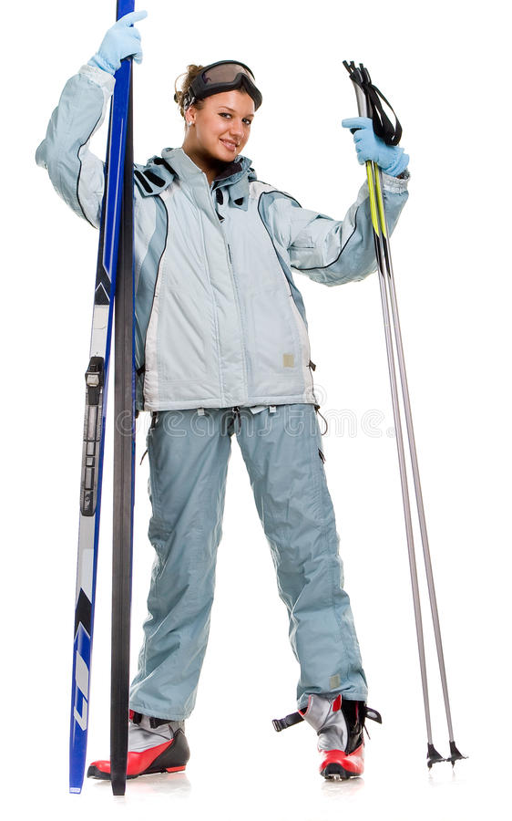 Download Nice Girl With Grey Sports Suit Stock Photo - Image: 12606650