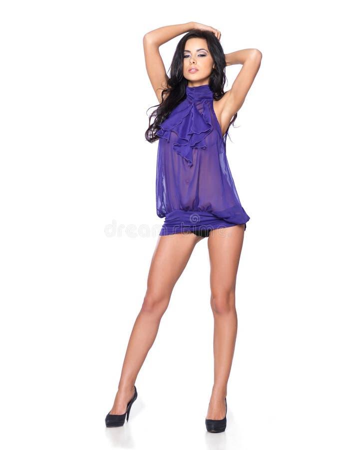 'sexy' no vestido foto de stock