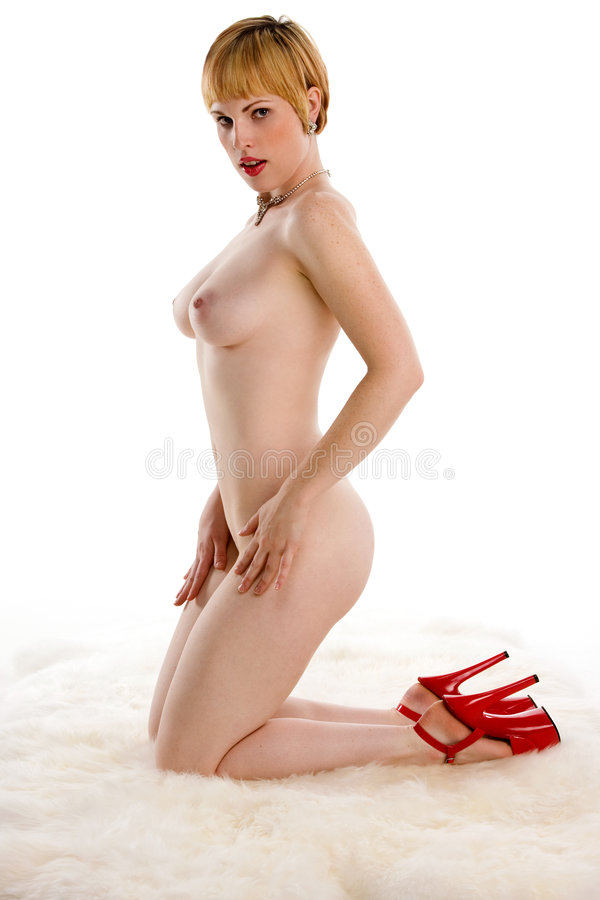 Nude Blonde Pin-Up Girl Stock Photo Image Of Pretty -7748