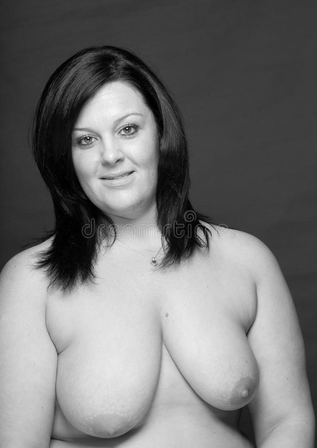 white plus size girl nude boobs