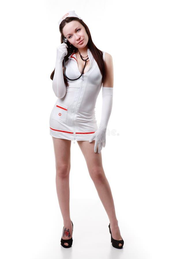 Download Nurse stock image. Image of heels, background, bathrobe - 22749467