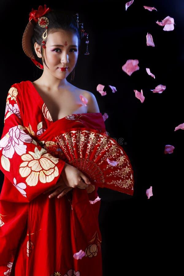 Sexy orientalische Schönheit stockfotografie