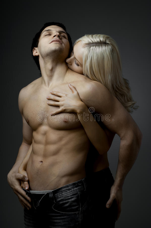 Sexy paar royalty-vrije stock foto's