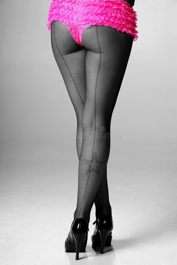 Download Pin-up legs. stock image. Image of adult, design, brunette - 7786075