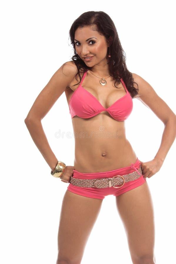 Pink Bikini stock images