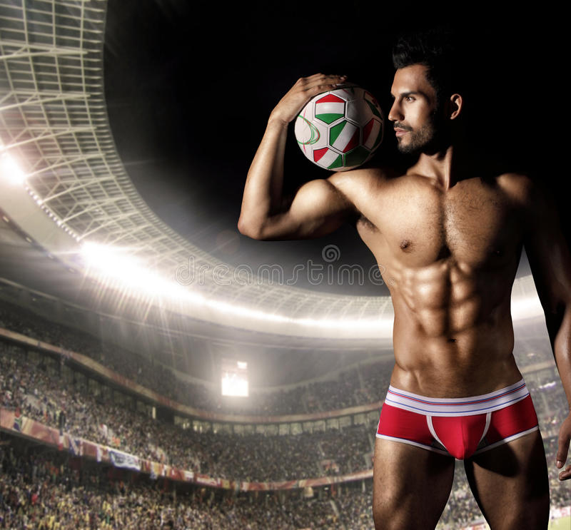 Download Player stock image. Image of soccer, athletic, model - 26108431