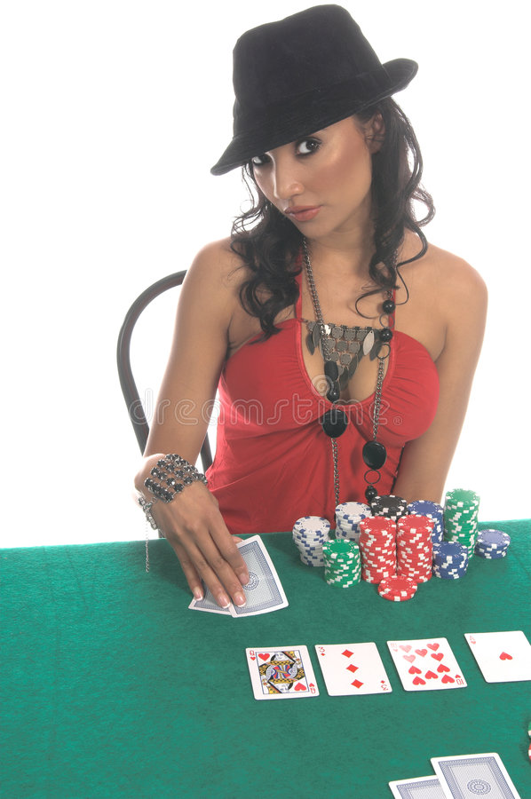 Download Poker Player stock image. Image of black, beauty, attractive - 856569
