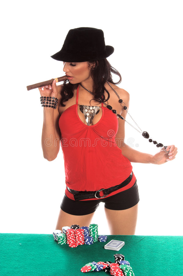 Download Poker Player stock image. Image of model, raven, person - 858143