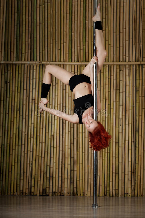 Download Pole Dance Woman. Royalty Free Stock Images - Image: 21518389