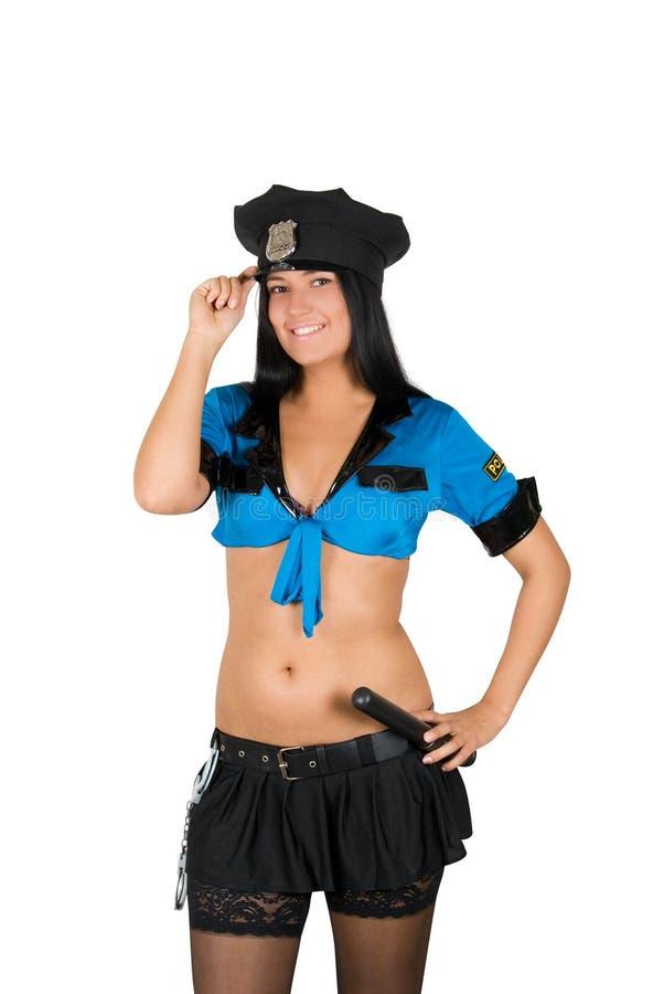 Sexy policewoman
