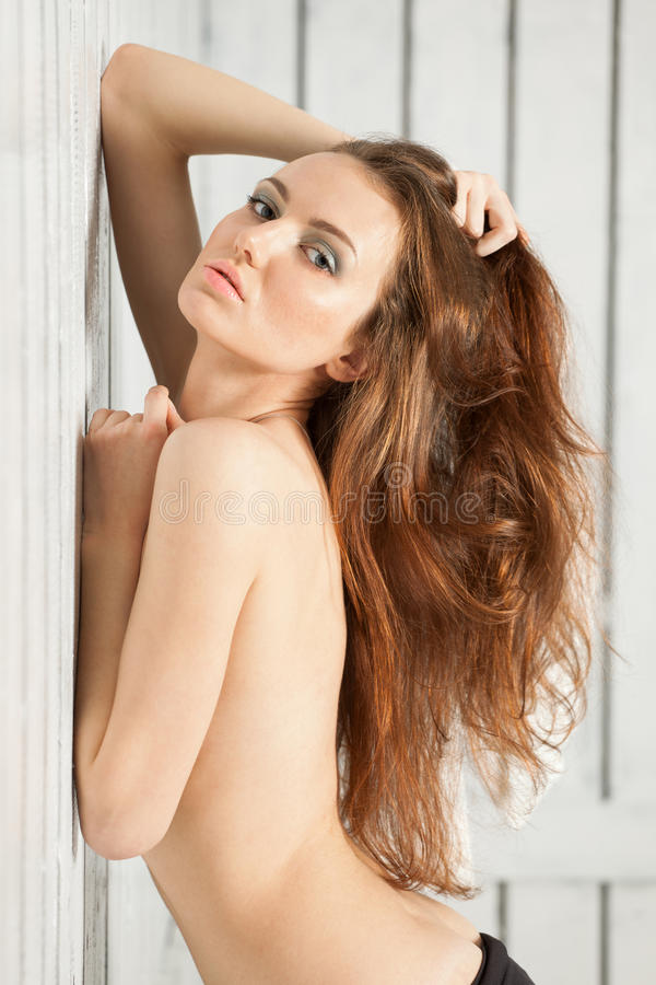 Download Posing Girl With Beautiful Hair Stock Image - Image: 29052343