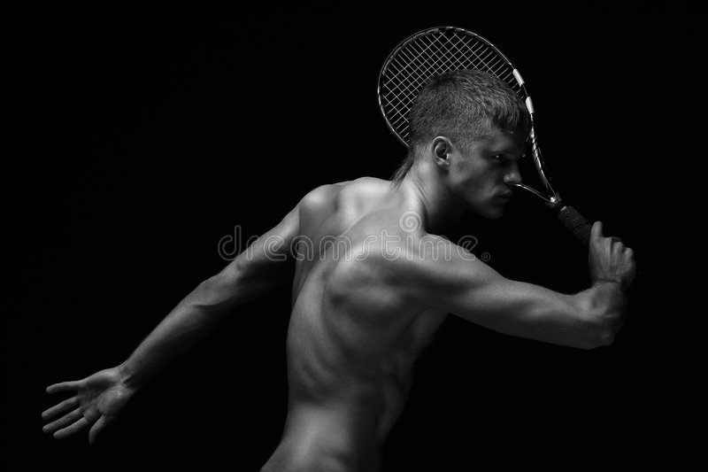 racket. royalty free stock photo