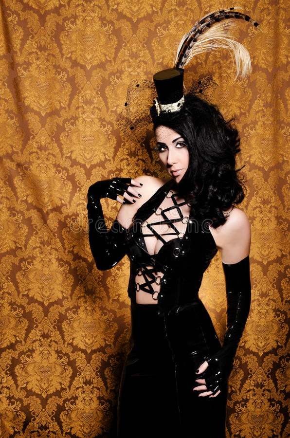 Retro Cabaret Royalty Free Stock Photo