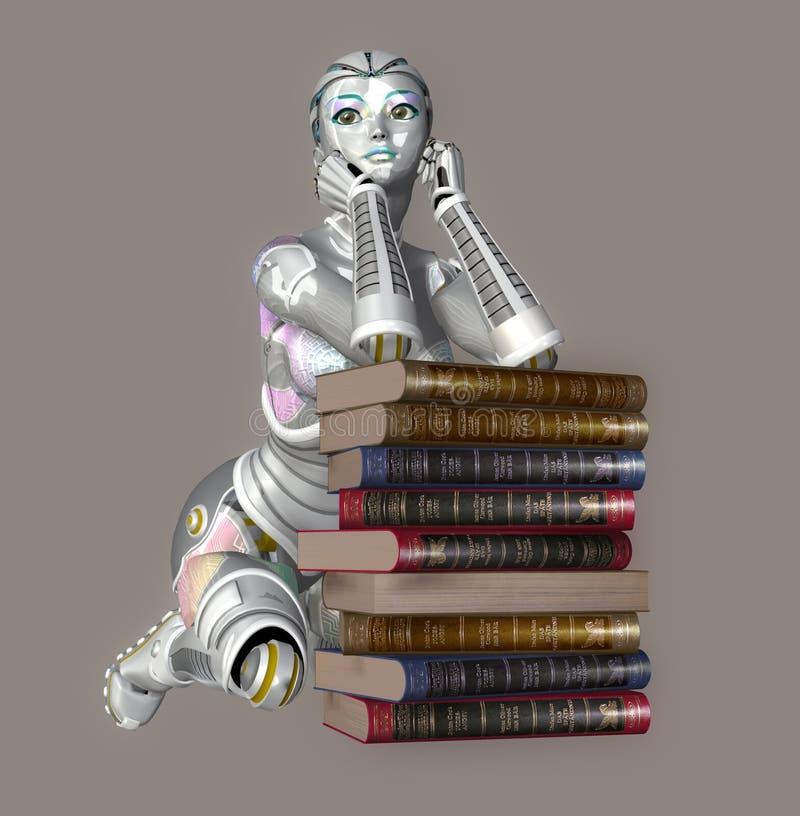 Download Robot stock illustration. Illustration of cyborg, automated - 5111773