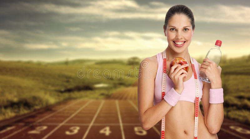 runner. royalty free stock images