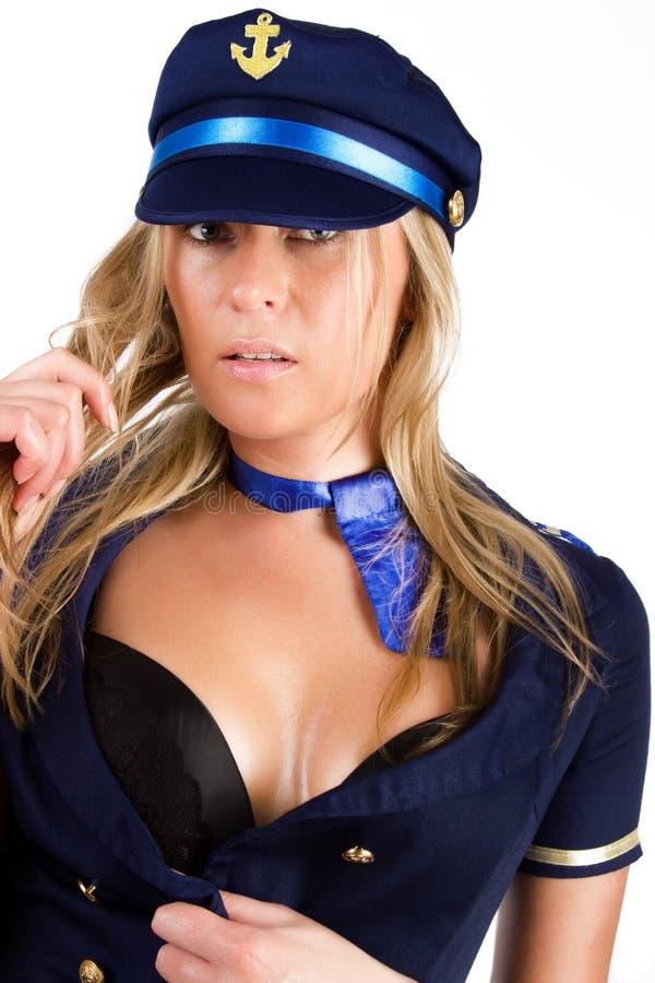Sailor Is Undressing Stock Photos