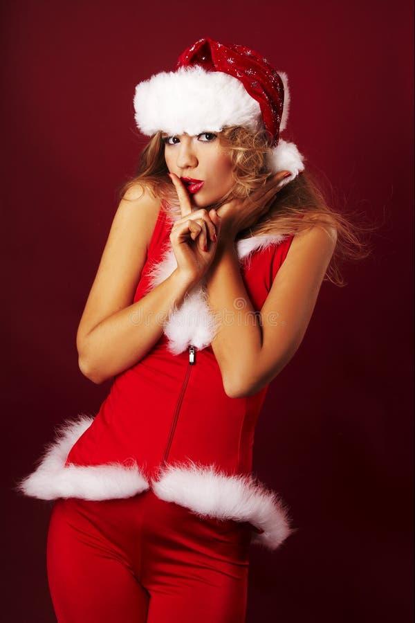 Download Santa helper stock image. Image of smiling, glamour, model - 11439223