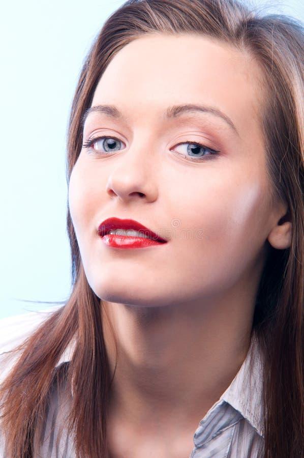 Download Secretary stock image. Image of model, brunette, cutout - 18041439