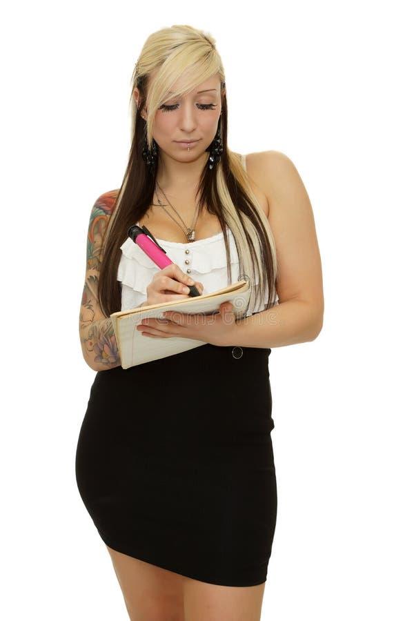 Sexy Sekretär stockfotos