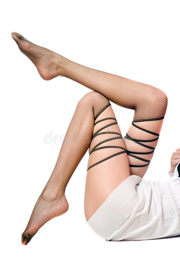 Shapely Women S Legs Royalty Free Stock Photo