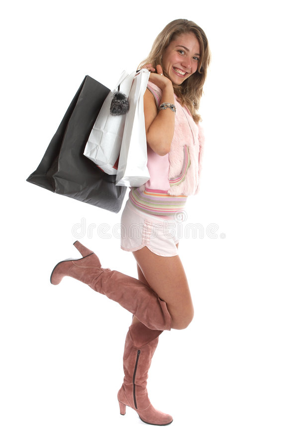 Download Shopping stock photo. Image of smile, spend, joyful, boots - 1415260