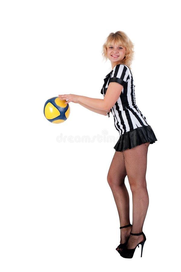 Soccer Referee Stock Image