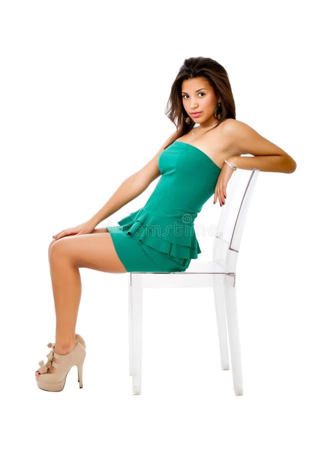 Sexy Spaanse vrouw royalty-vrije stock afbeeldingen