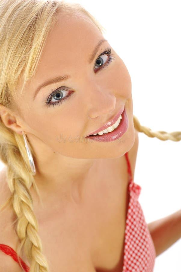 summer girl stock images