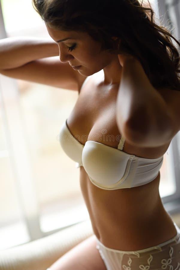 sexy weiße Brautwäsche