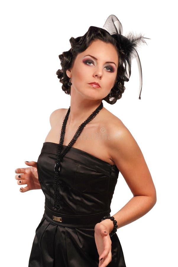 vamp woman royalty free stock image