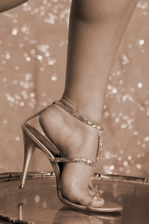 Sexy voeten royalty-vrije stock afbeelding