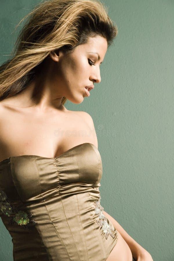 Sexy vrouw royalty-vrije stock afbeelding