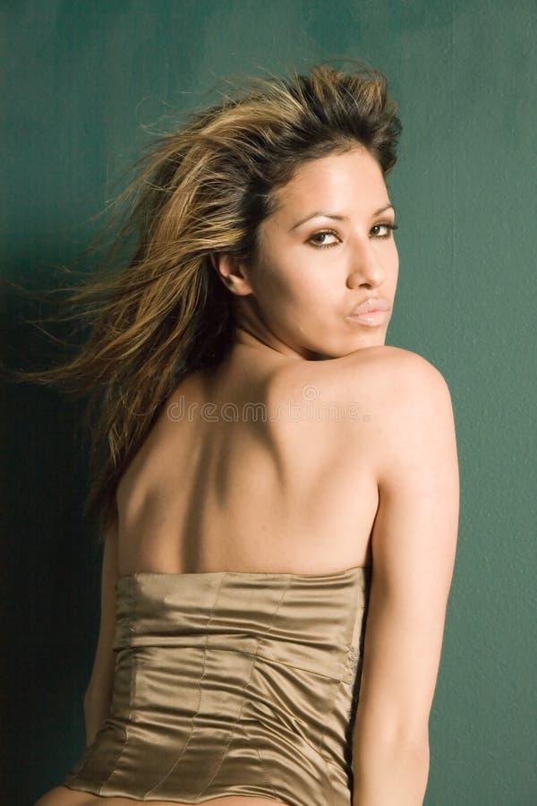 Sexy vrouw royalty-vrije stock fotografie