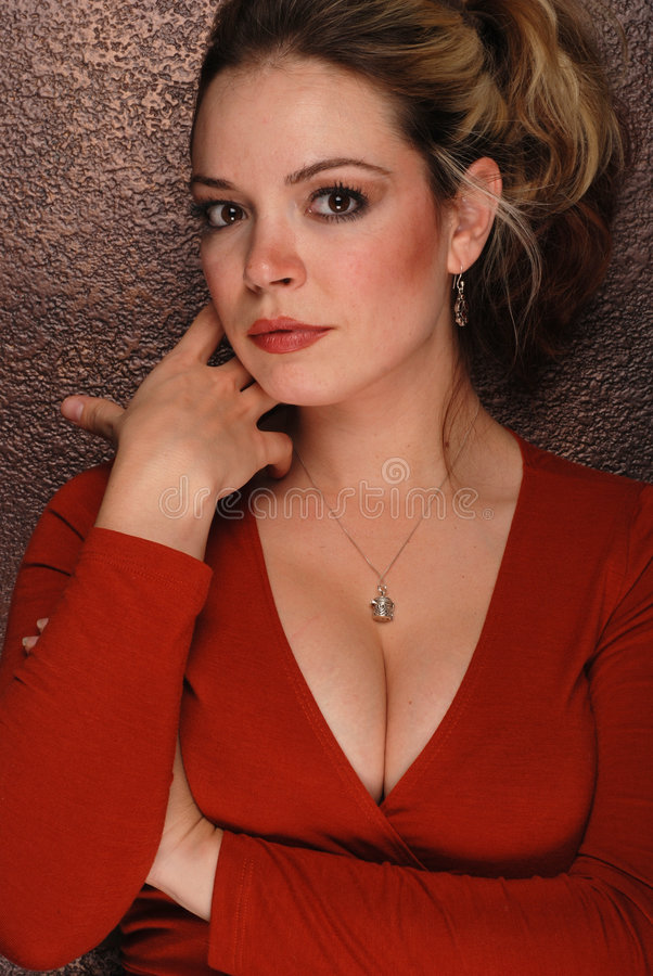 Sexy vrouw royalty-vrije stock foto