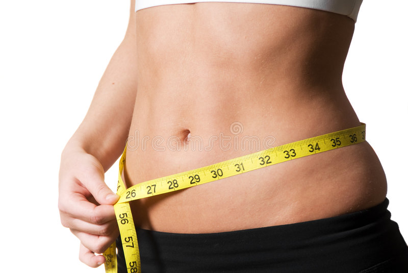 Download Waist stock photo. Image of measure, loss, exercise, stomach - 3813244